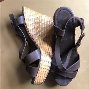 Ralph Lauren Collection - Vero Cuoio Wedges